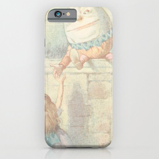 Vintage Humpty Dumpty iPhone & iPod Case