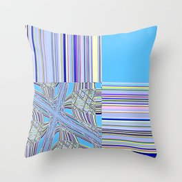 Re-Created Southern Cross VII by Robert S. Lee Throw Pillow