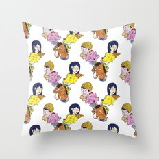Bojack & Co Throw Pillow