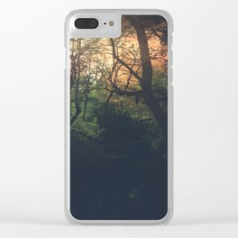 Ethereal Woods Clear iPhone Case