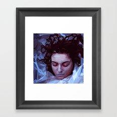 Laura Palmer from Twin Peaks Framed Art Print