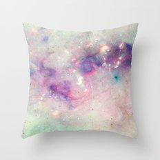 The colors of the galaxy Throw Pillow
