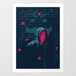 Mr. Robot - series poster Art Print