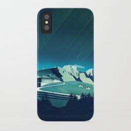 Alpine Hut iPhone Case