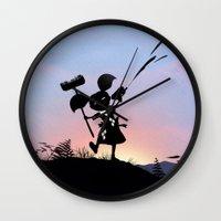 Harley Kid Wall Clock