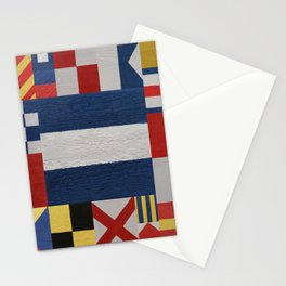 Signal J Flag Stationery Cards