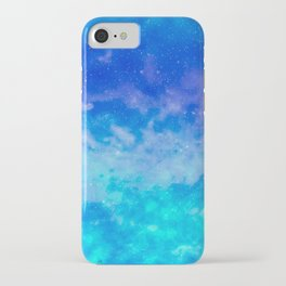 Sweet Blue Dreams iPhone Case