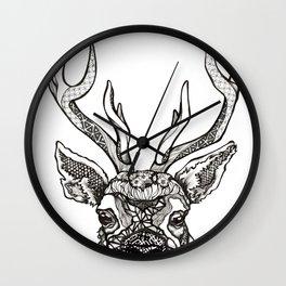 Spirit Elk Wall Clock