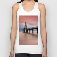 wooden Tank Tops featuring  Wooden Pier by davehare