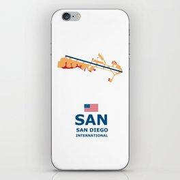 San Diego. iPhone Skin