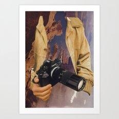untitled (canon) Art Print