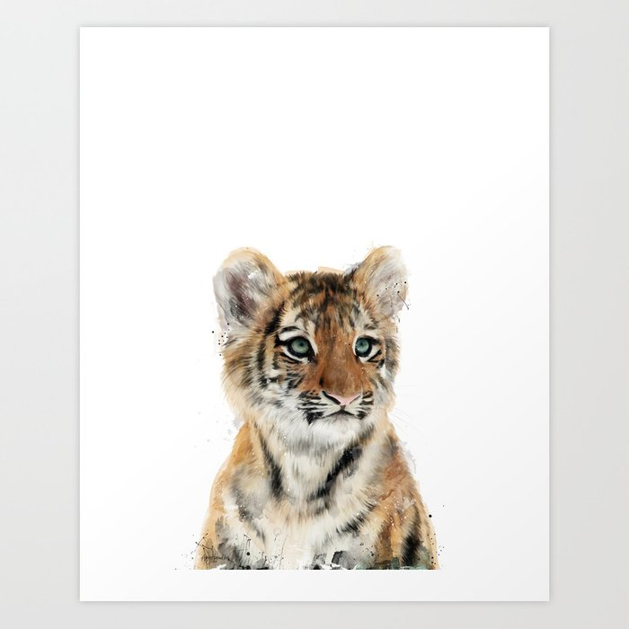Discover the motif LITTLE TIGER by Amy Hamilton as a print at TOPPOSTER