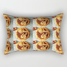 Wag the Waffle Rectangular Pillow