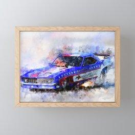 John Hale's Texan Framed Mini Art Print
