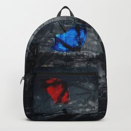 Blown Away on a Rainy Day Backpack