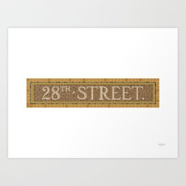 28 Street Art Print
