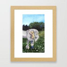Finding Innocence Framed Art Print