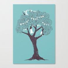 I Saw Stars Canvas Print