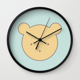 Buddy Bear Wall Clock