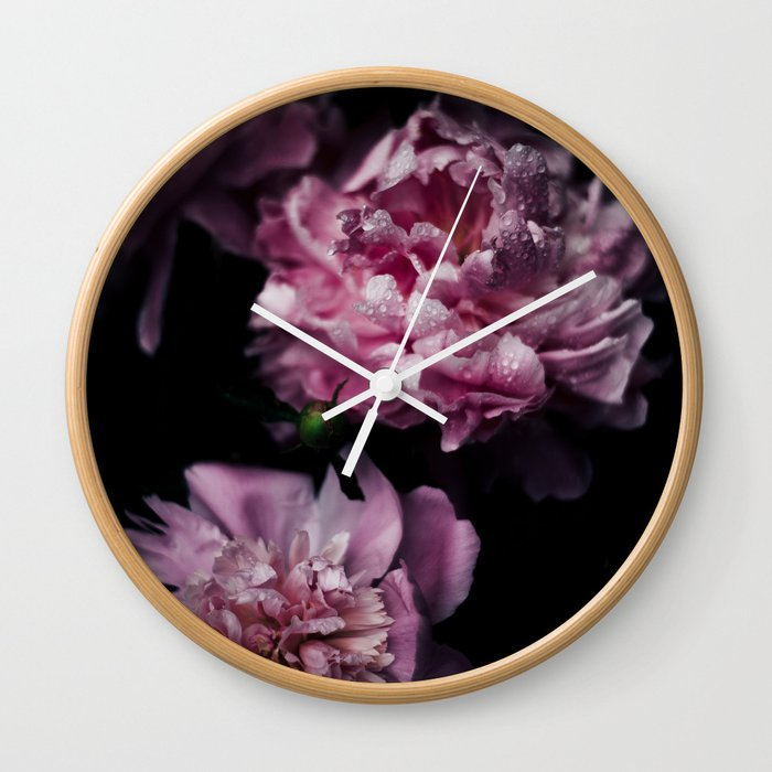 FLOWERS - FLORAL Wall Clock