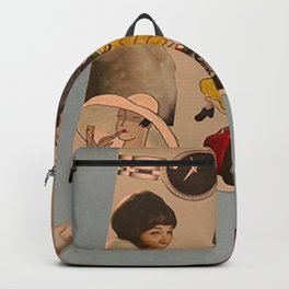 crafting collage Backpack