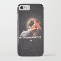 dale cooper iPhone & iPod Cases featuring Black Mirror | Dale Cooper Collage by Julien Ulvoas