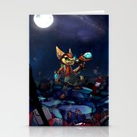 heroes Stationery Cards featuring Heroes by Viivi K