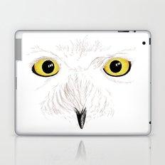 Peer into the Light – Snowy Owl Laptop & iPad Skin