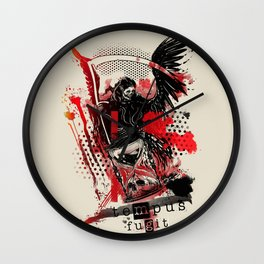 Time flies [ teMpus fuGit ] Wall Clock