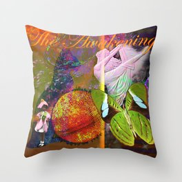 The Awakening of Self Throw Pillow