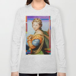 Sta Barbara. after Raphael Long Sleeve T-shirt