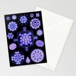 Ernst Haeckel - Melethallia (Purple) Stationery Cards