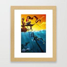 Sea Monkeys Framed Art Print