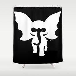 dumbat Shower Curtain