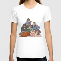 the breakfast club T-shirts featuring The Breakfast Club by Heidi Banford