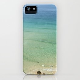 Paddling in Paradise. iPhone Case