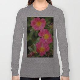 Neon Flowers Long Sleeve T-shirt