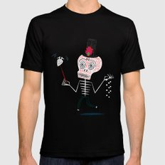 The Halloween Series - The Voodoo That You Do MEDIUM Black Mens Fitted Tee