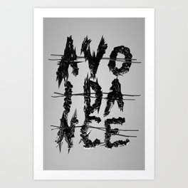 Avoidance Art Print