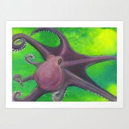 Octopus #6 Art Print