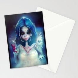 2012 Horror Girl Stationery Cards