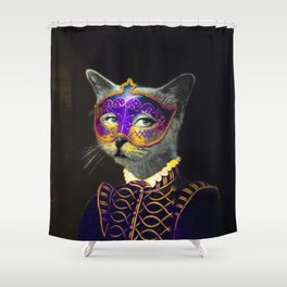 Cool Animal Art - Cat Shower Curtain