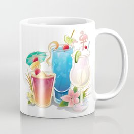 Tropical Drinks 3 Coffee Mug