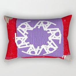 Art and Resistance Rectangular Pillow