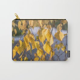 Birch leaf Carry-All Pouch
