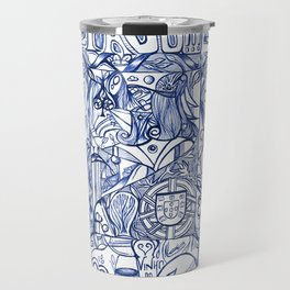 Portugal collage Travel Mug