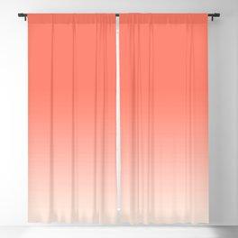 Coral Ombre, Dip Dye, Boho Blackout Curtain