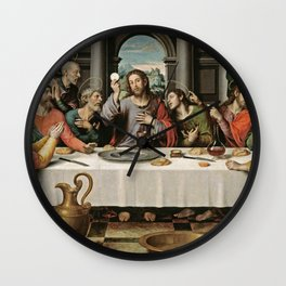The Last Supper Painting Wall Clock