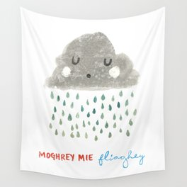 Moghrey Mie Fliaghey Wall Tapestry