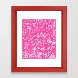 Let' Go Framed Art Print
